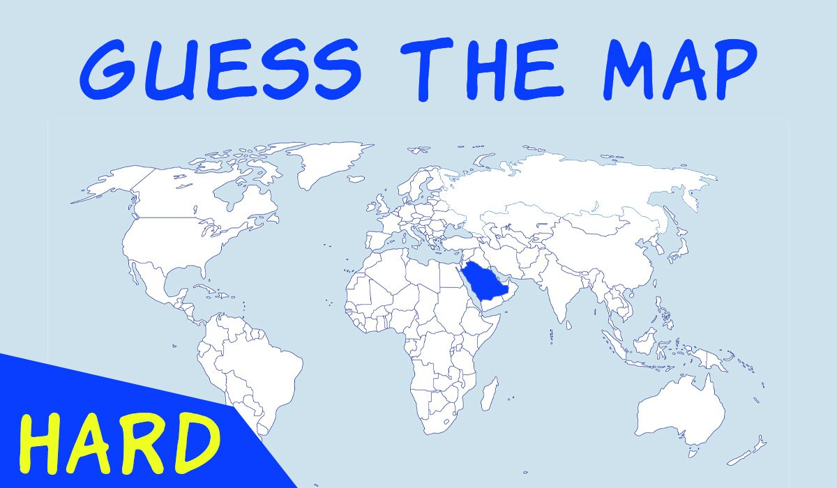 guess the map quiz think more quizzes hard