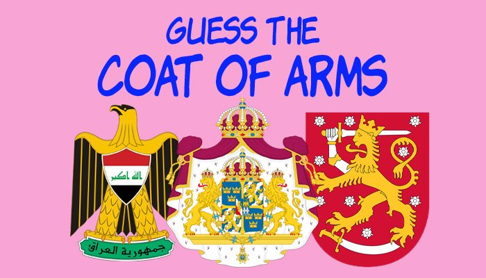 Guess the Coat of Arms quiz think more quizzes 1