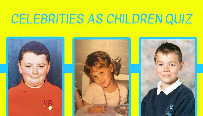 Celebrities as Children Quiz