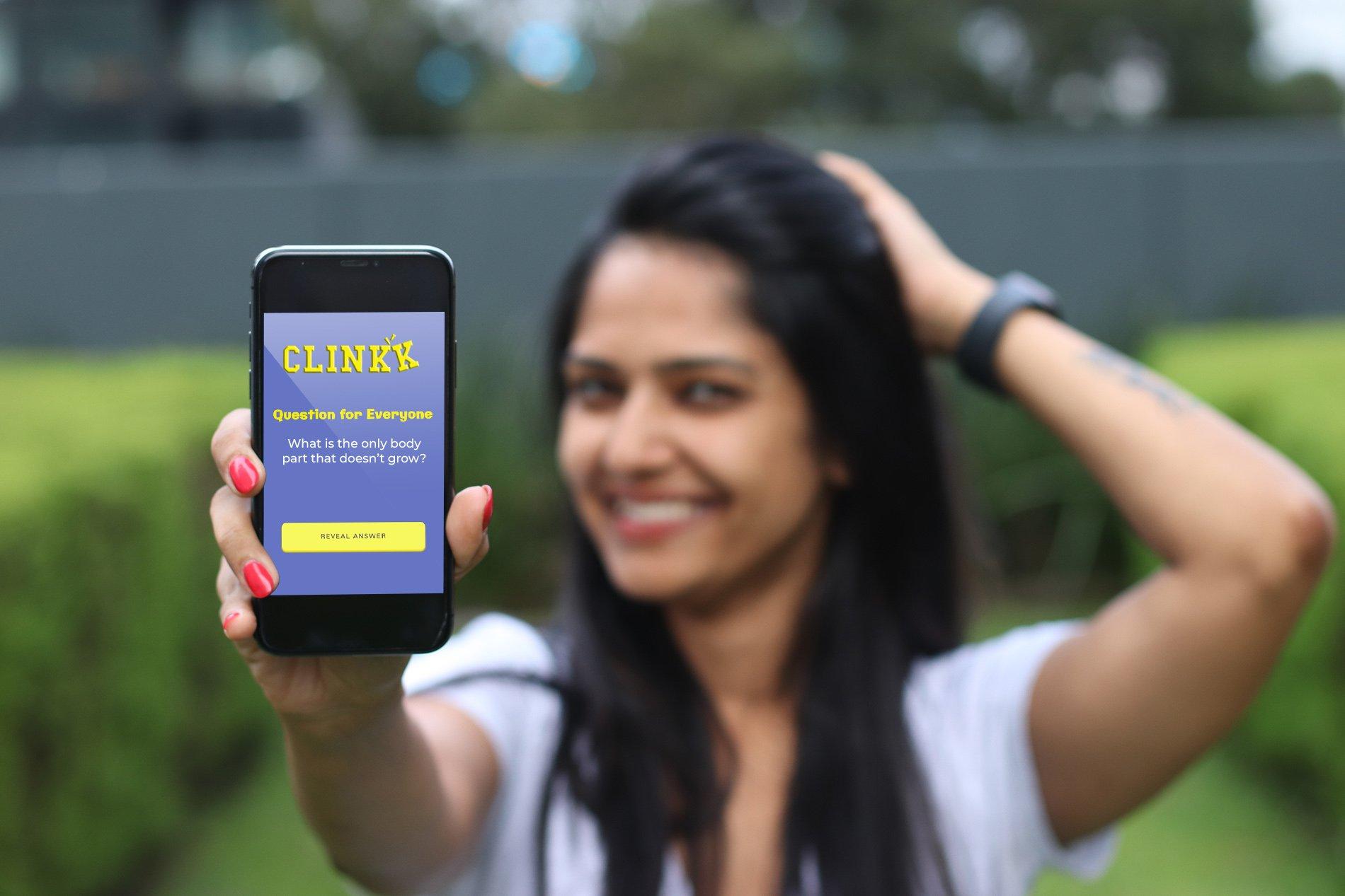 clinkk app question promo 1